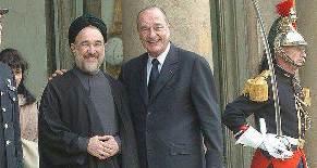 روابط فرانسه و ایران در دوران خاتمی + (تصویر)