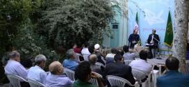 """گزارش تصویری/نشست """"صلح و بنیادگرایی مذهبی"""" با سخنرانی امیر حسین ترکاشوند"""
