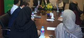 الهام فخاری رئیس منطقه تهران سازمان عدالت و آزادی در نشست خبری دوازدهمین کنگره حزب : حکمرانی خوب در برنامه های مدیریت شهری سازمان