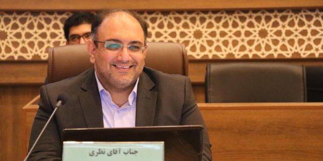 نظری به عنوان عضو شورای شهر شیراز سوگند یاد کرد